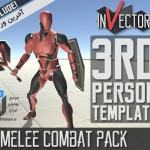 دانلود پکیج 3rd Person Controller Melee Combat Template یونیتی