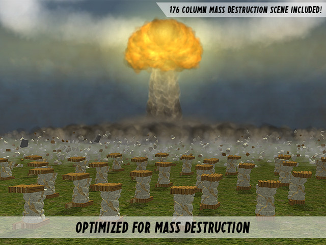 دانلود پکیج DestroyIt یونیتی