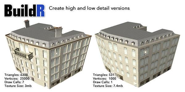 دانلود Building BuildR Procedural Generator یونیتی