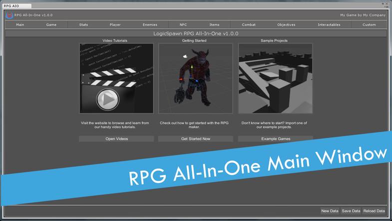 دانلود پکیج RPG All-in-One یونیتی