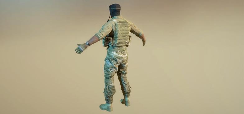 دانلود پکیج WA: US Soldier یونیتی