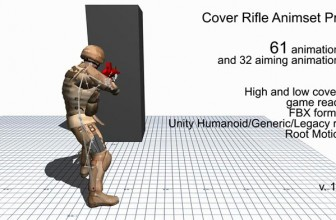 دانلود پکیج Cover Rifle Animset Pro