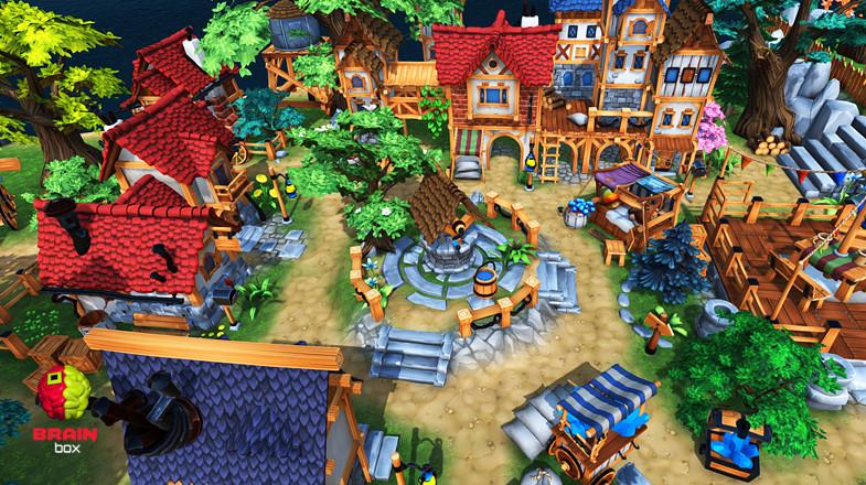پکیج Fantasy Environment یونیتی