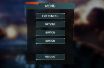 دانلود Sentinel FPS GUI یونیتیدانلود Sentinel FPS GUI یونیتی