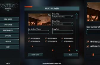 دانلود Sentinel FPS GUI یونیتی