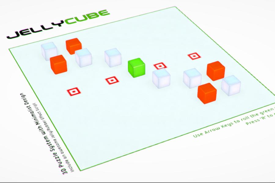 دانلودJelly Cube Game Starter Kit یونیتی