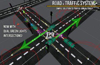 دانلود Road & Traffic System یونیتی