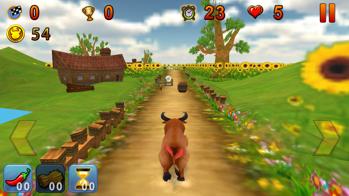 دانلود Crazy Ox Endless 3D Running Game یونیتی