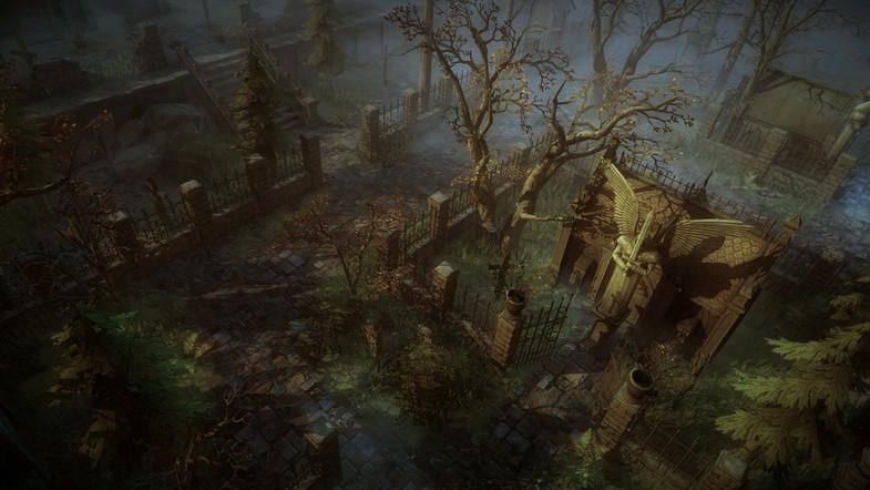 دانلود پکیج Top-Down Graveyard یونیتی
