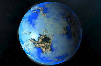 سایه زن سطح سیاره