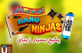 پکیج زیبای دونده بی پایان Nano Ninja Run
