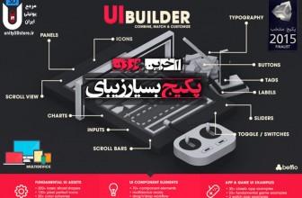 پکیج بسیار زیبای UI – Builder